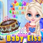 Baby Elsa Birthday Party