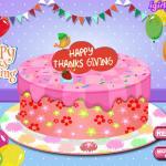 Happy Thanksgiving Cake Master