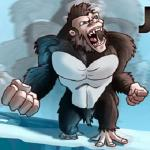 Jumping Angry Ape