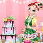 Princesses Cooking Challenge: Cake